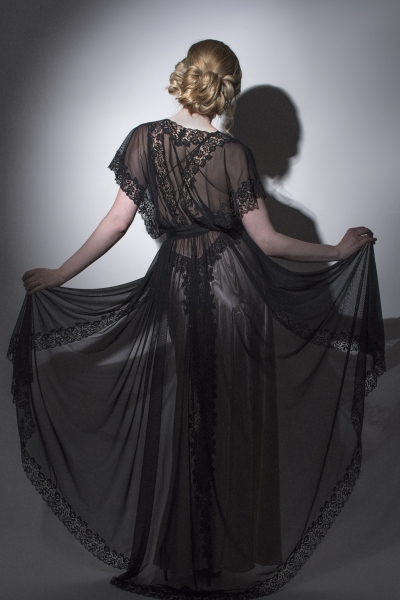 3388 Tulle Negligee