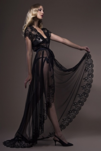 Josephine 3683 Sultry Tulle Negligee