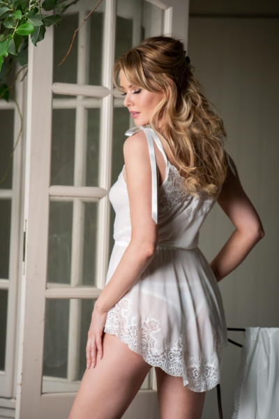 37614 Toga style Chemise and Briefs