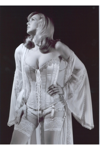 C.25 Silk Corset and bloomers