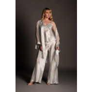 Filigree Silk Camisole and Trousers 03910